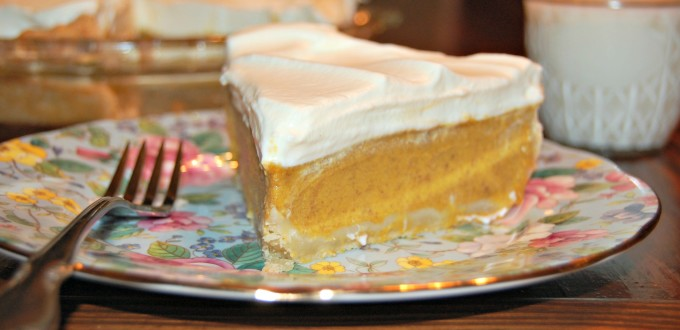 Homemade Winer Luxury Pumpkin Pie