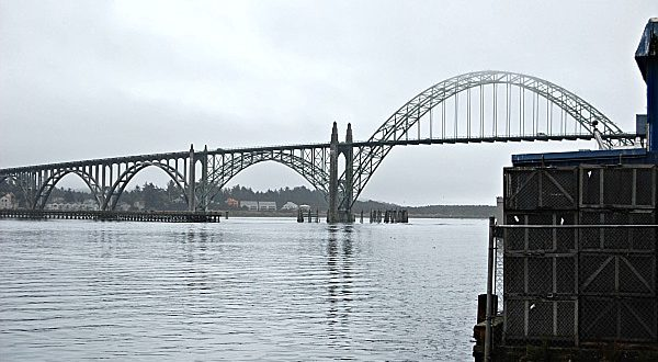South Beach State Park Yaquina Bay Bridge